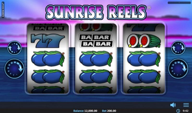 Sunrise Reels :: Main Game Board