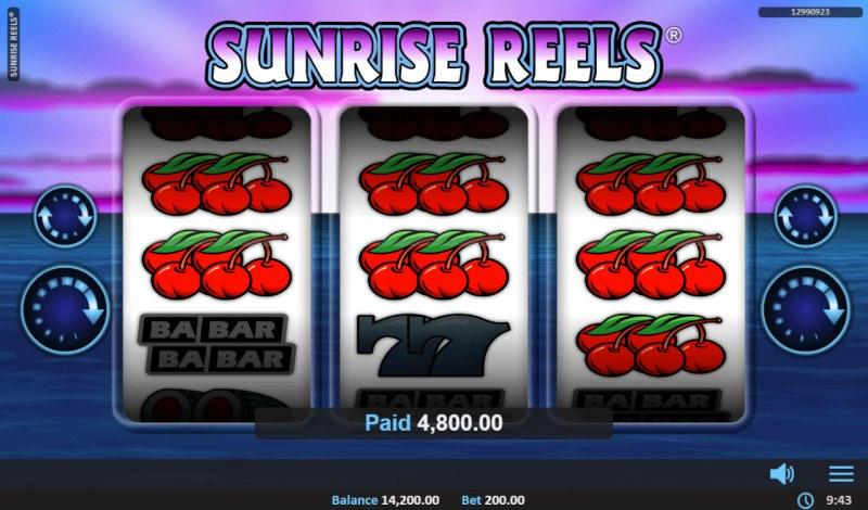 Sunrise Reels :: Multiple winning paylines