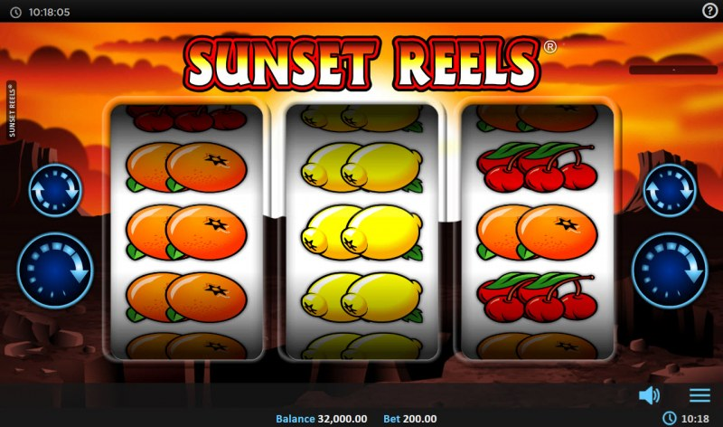 Sunset Reels :: Main Game Board