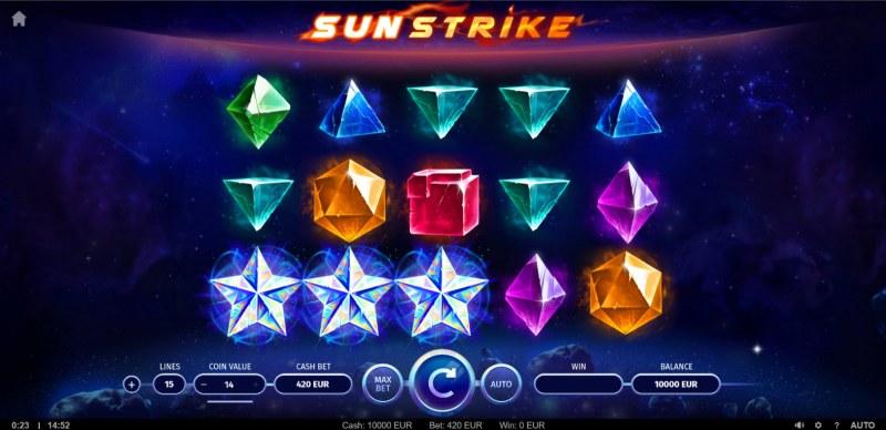 Sunstrike :: Main Game Board