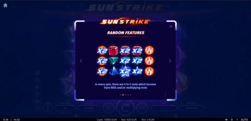 Sunstrike :: Random Features