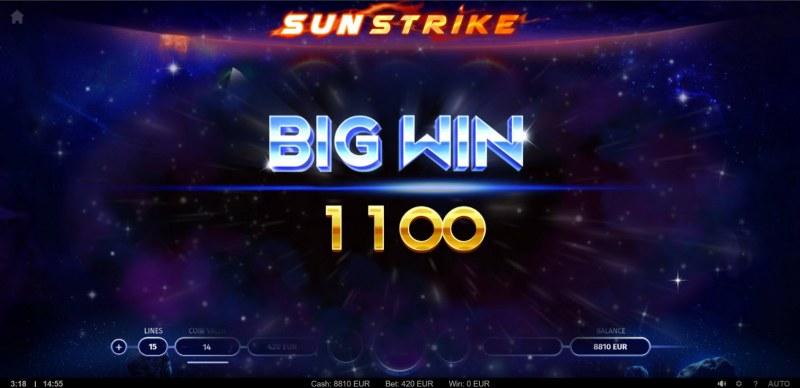 Sunstrike :: Big Win
