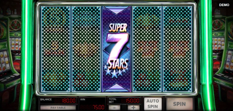 Super 10 Stars :: Super 7 Stars symbol triggers a respin