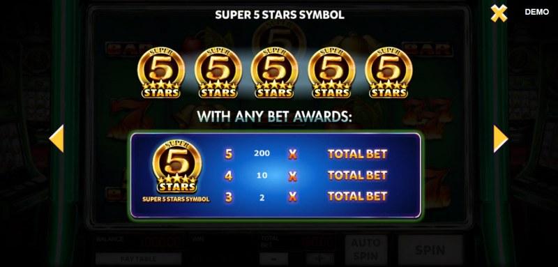 Super 10 Stars :: Super 5 Stars Symbol