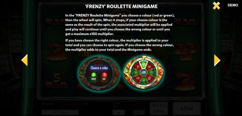 Super 10 Stars :: Frenzy Roulette Minigame