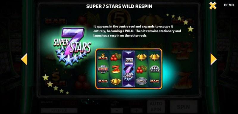 Super 10 Stars :: Super 7 Stars Wild Respin
