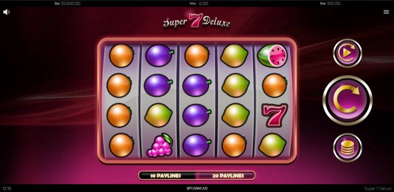 Super 7 Deluxe :: Main Game Board