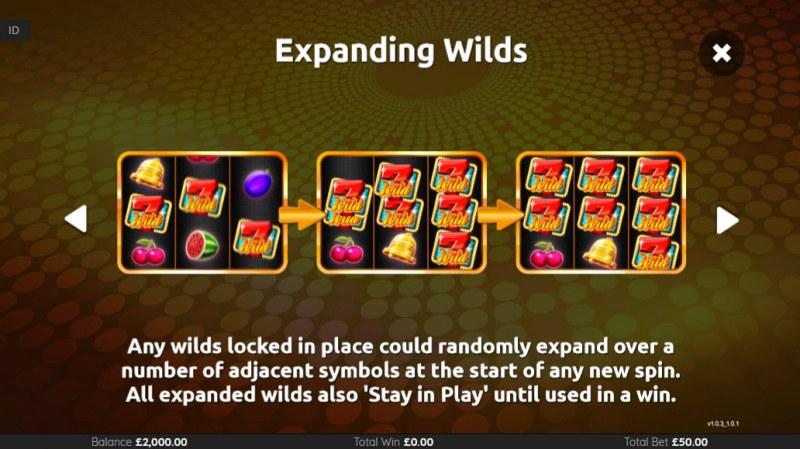 Super 7 Wilds :: Expanding WIlds