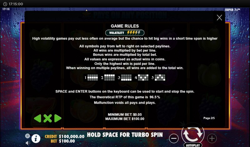 Super 7s :: General Game Rules