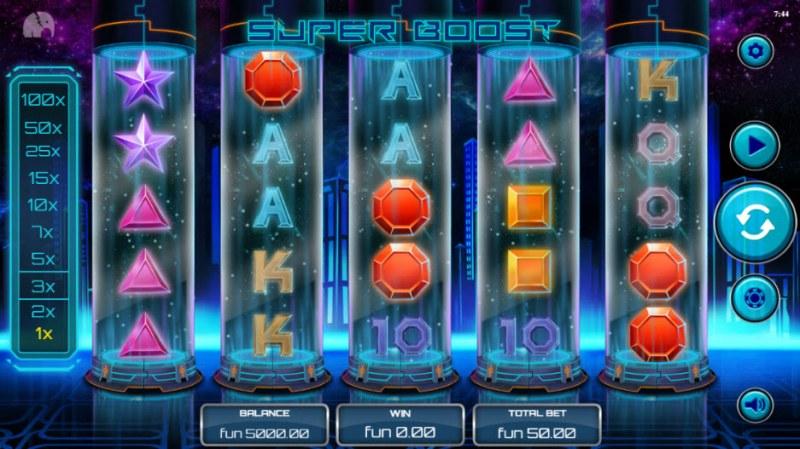 Super Boost :: Main Game Board