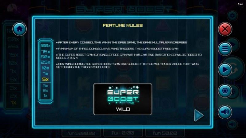 Super Boost :: Feature Rules