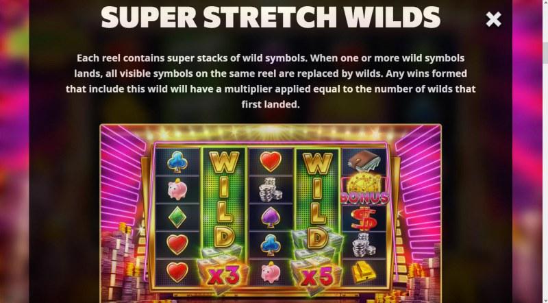 Super Cash Drop :: Super Stretch Wilds