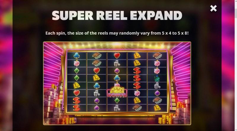 Super Cash Drop :: Super Reel Expand