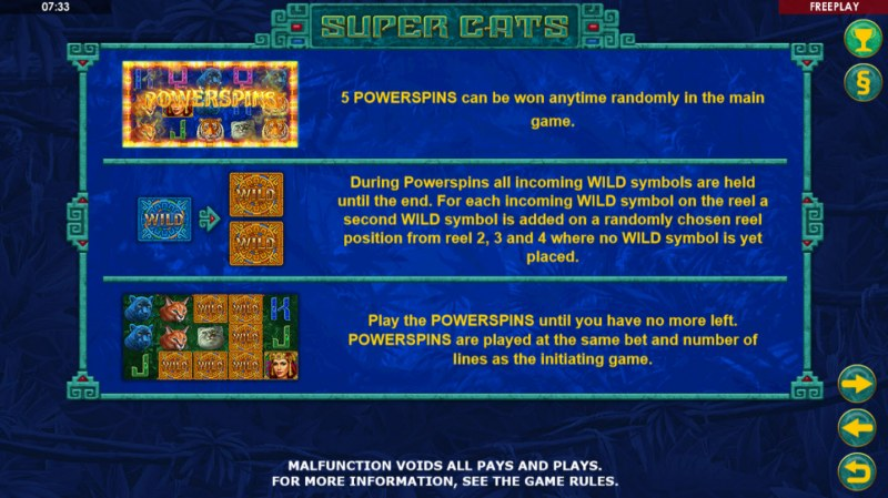 Super Cats :: Powerspins