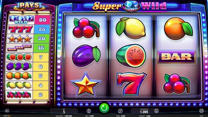 Super Diamond Wild :: Main Game Board