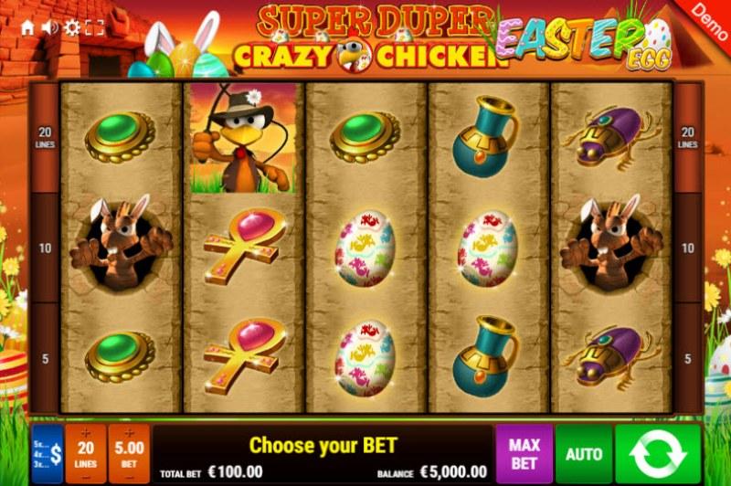 Super Duper Crazy Chicken Easter Egg :: Main Game Board