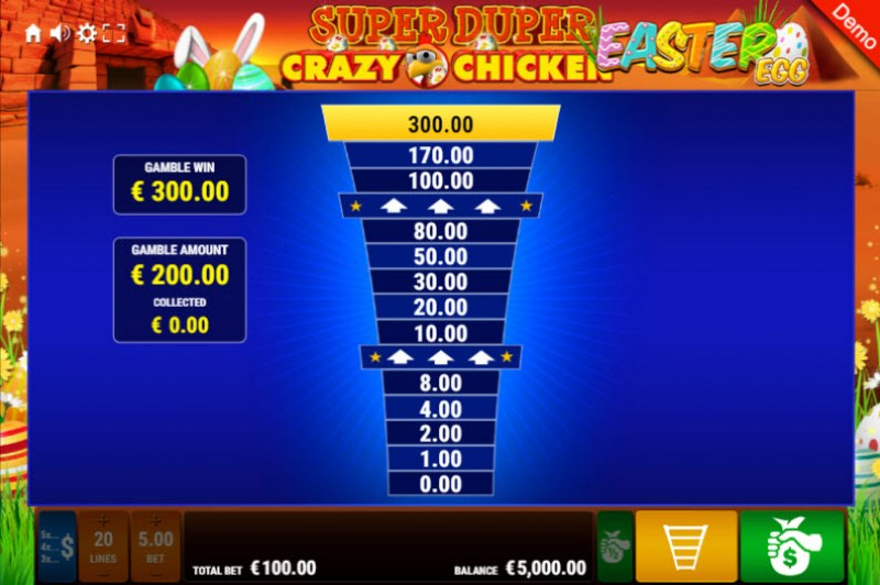Super Duper Crazy Chicken Easter Egg :: Ladder Gamble Feature