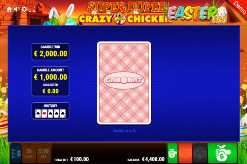 Super Duper Crazy Chicken Easter Egg :: Red or Black Gamble Feature