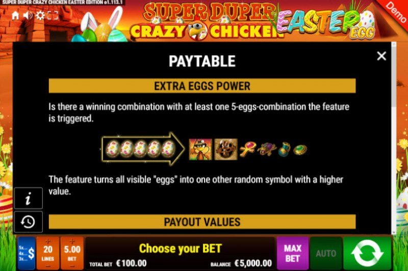 Super Duper Crazy Chicken Easter Egg :: Extra Eggs Power