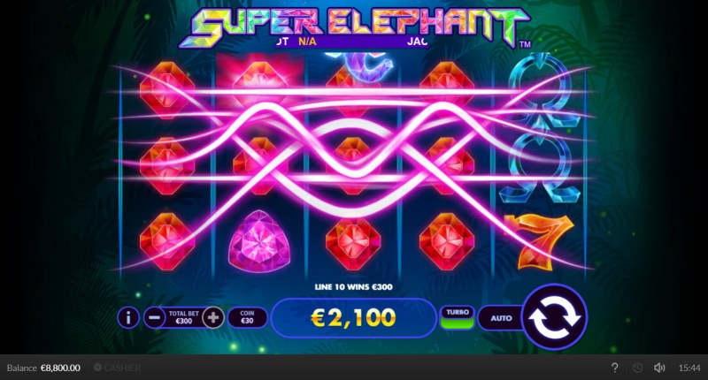Super Elephant :: Multiple winning paylines
