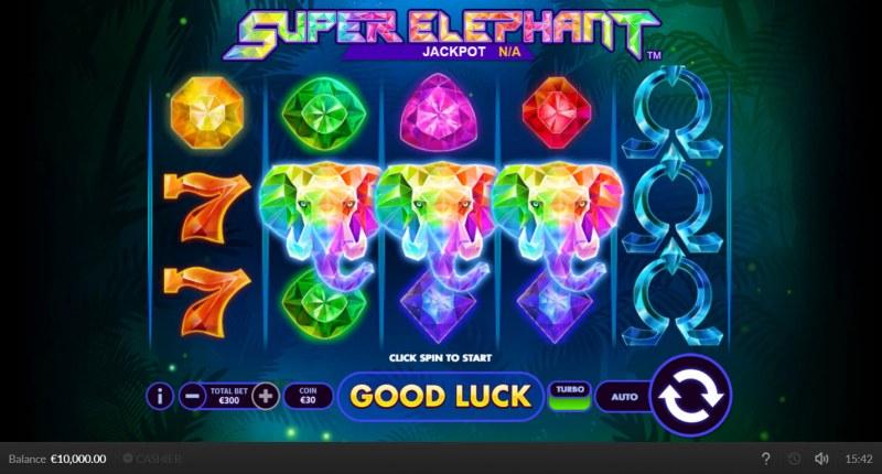 Super Elephant :: Main Game Board