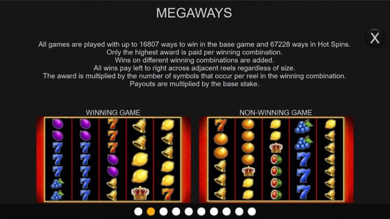 Super Hot Fruits Megaways :: Megaways