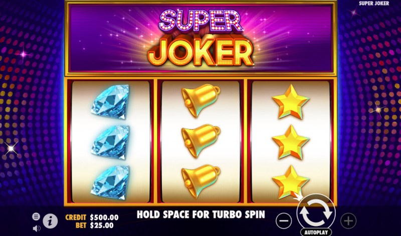 Super Joker :: Main Game Board