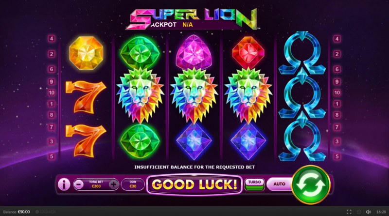Super Lion :: Main Game Board
