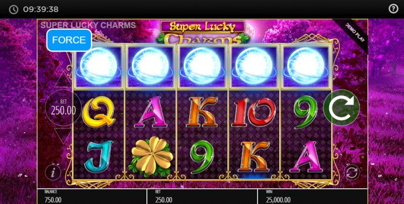 Super Lucky Charms :: Scatter symbols triggers the free spins feature