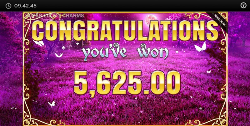 Super Lucky Charms :: Total free spins payout
