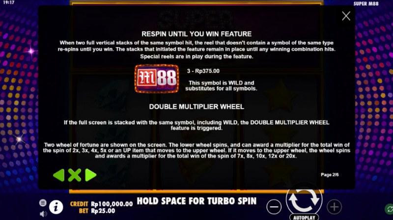 Super M88 :: Feature Rules