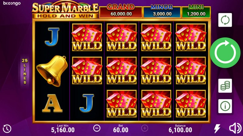 Super Marble Hold and Win :: Multiple winning paylines
