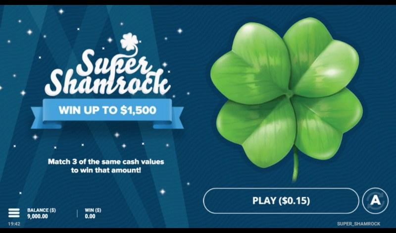 Super Shamrock :: Main Game Board