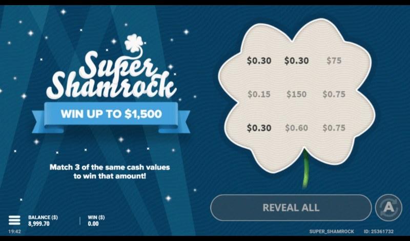 Super Shamrock :: Match three and win