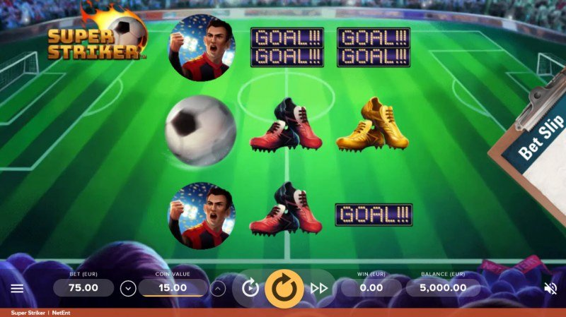Super Striker :: Main Game Board