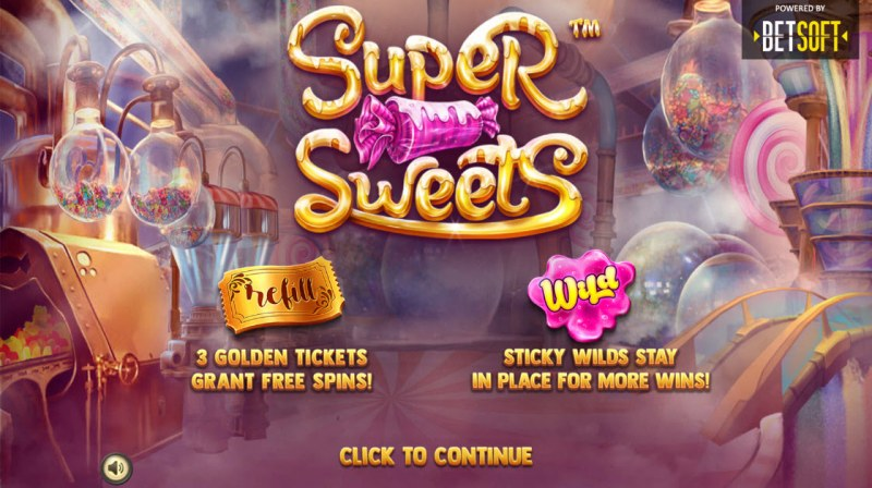 Play slots at Real Bet: Real Bet featuring the Video Slots Super Sweets with a maximum payout of $3,944
