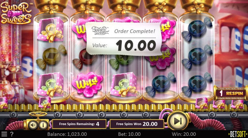 Super Sweets :: Multiple winning paylines