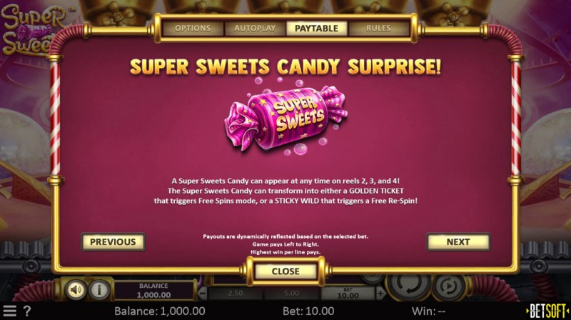 Super Sweets :: Super Sweets Candy Surprise