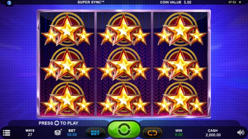Super Sync :: Main Game Board