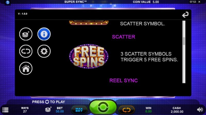 Super Sync :: Scatter Symbol Rules