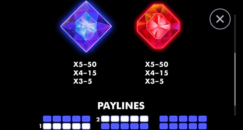 Super Wolf :: Paytable - Low Value Symbols