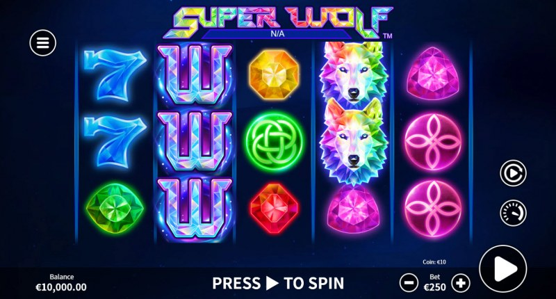 Super Wolf :: Main Game Board