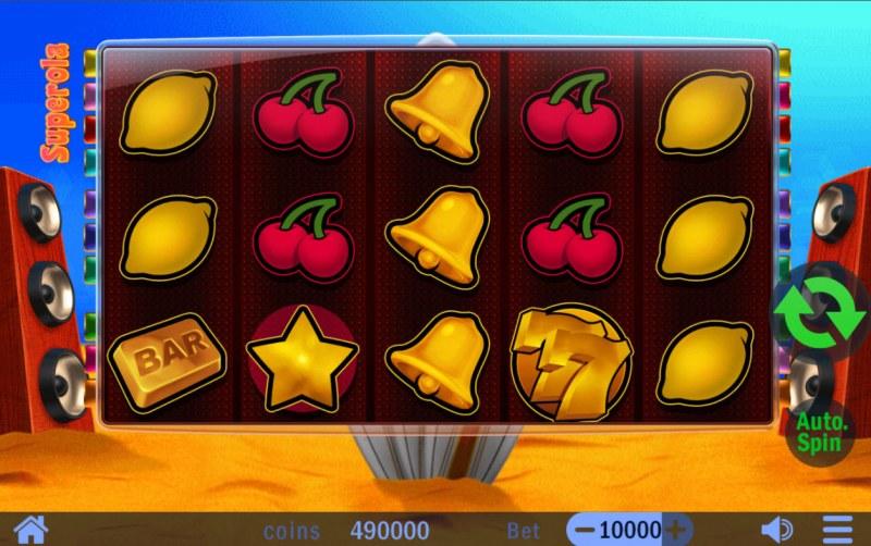 Superola :: Base Game Screen