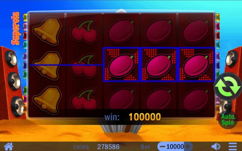 Superola :: Multiple winning paylines