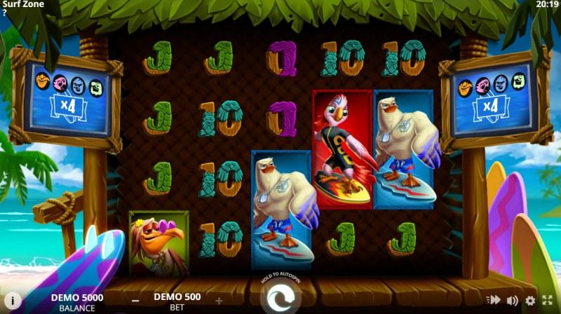 Surf Zone :: Main Game Board