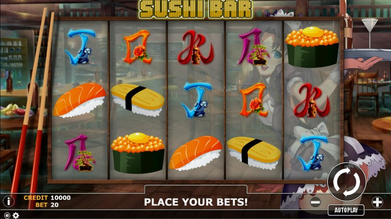 Sushi Bar :: Main Game Board