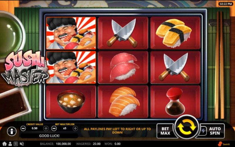 Sushi Master :: Main Game Board