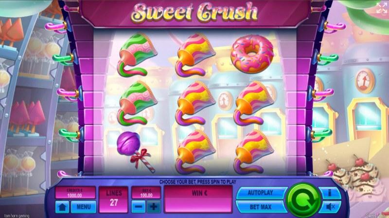 Sweet Crush :: Base Game Screen