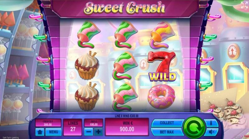 Sweet Crush :: Multiple winning paylines