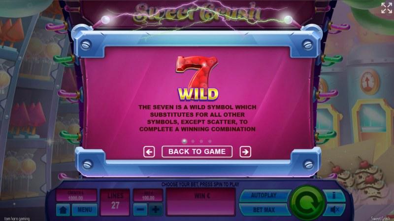 Sweet Crush :: Wild Symbol Rules